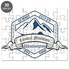 Crystal Mountain Ski Resort Washington Puzzle