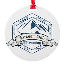 Jackson Hole Ski Resort Wyoming Ornament