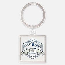 Jasper Ski Resort Alberta Keychains