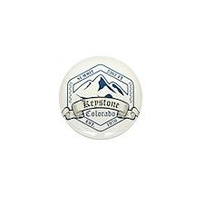 Keystone Ski Resort Colorado Mini Button