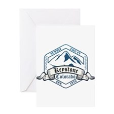 Keystone Ski Resort Colorado Greeting Cards
