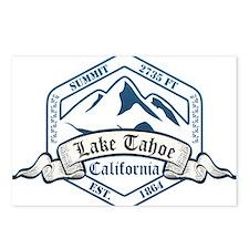 Lake Tahoe Ski Resort California Postcards (Packag