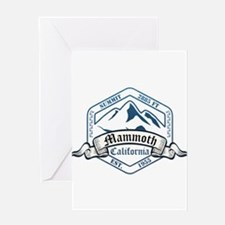 Mammoth Ski Resort California Greeting Cards