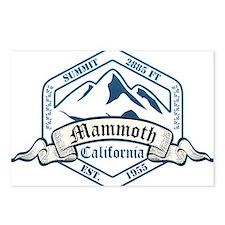 Mammoth Ski Resort California Postcards (Package o