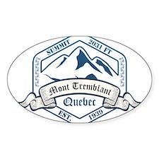 Mont Tremblant Ski Resort Quebec Decal