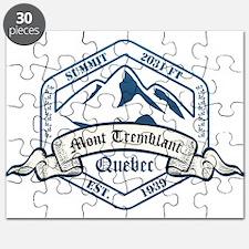 Mont Tremblant Ski Resort Quebec Puzzle