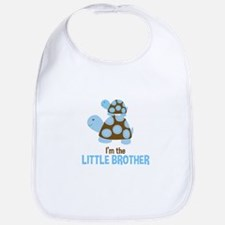 Mod Turtles Little Brother Bib