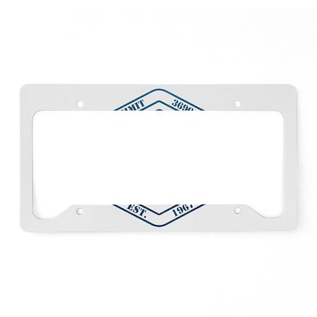 Mt Hood Ski Resort Oregon License Plate Holder