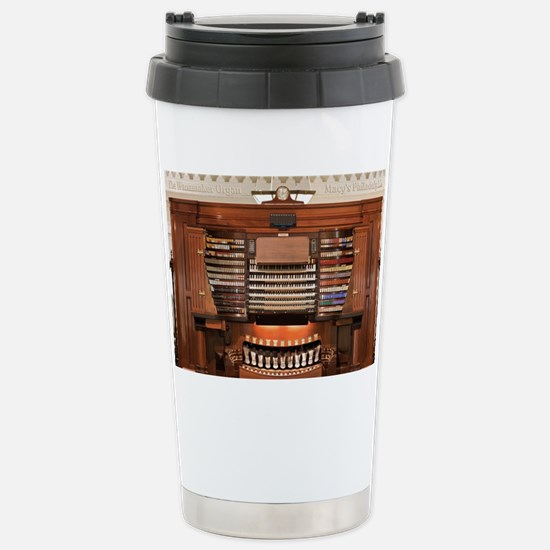 Wanamaker Organ Console Stainless Steel Travel Mug