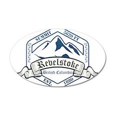 Revelstoke Ski Resort British Columbia Wall Decal