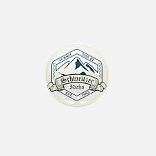 Schweitzer Ski Resort Idaho Mini Button