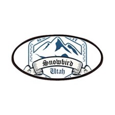 Snowbird Ski Resort Utah Patches