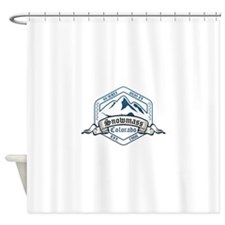 Snowmass Ski Resort Colorado Shower Curtain