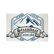 Steamboat Ski Resort Colorado Magnets