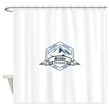 Stowe Ski Resort Vermont Shower Curtain