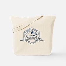 Sun Peaks Ski Resort British Columbia Tote Bag