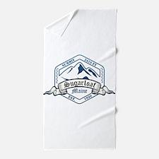 Sugarloaf Ski Resort Maine Beach Towel