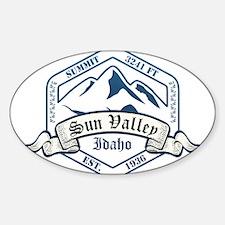 Sun Valley Ski Resort Idaho Decal