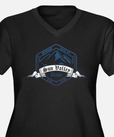 Sun Valley Ski Resort Idaho Plus Size T-Shirt