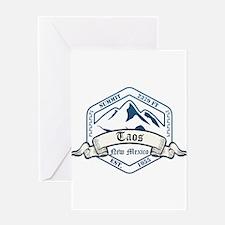 Taos Ski Resort New Mexico Greeting Cards