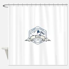 Taos Ski Resort New Mexico Shower Curtain