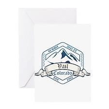 Vail Ski Resort Colorado Greeting Cards