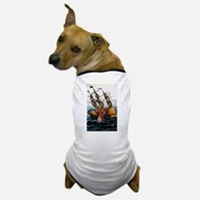Cute Pirate ship Dog T-Shirt