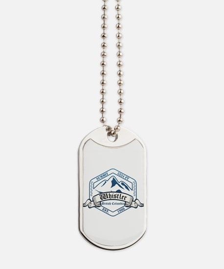 Whistler Ski Resort British Columbia Dog Tags