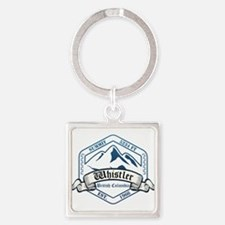 Whistler Ski Resort British Columbia Keychains