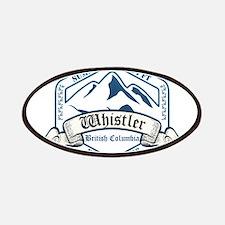 Whistler Ski Resort British Columbia Patches
