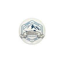 Whistler Ski Resort British Columbia Mini Button