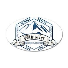 Whistler Ski Resort British Columbia Wall Decal