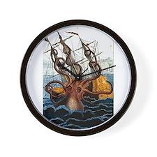 Cute Sea serpent Wall Clock