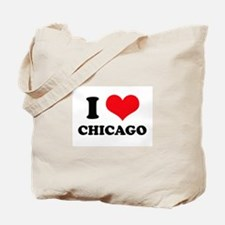 I Love (Heart) Chicago Tote Bag