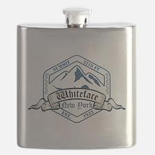Whiteface Ski Resort New York Flask