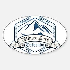 Winter Park Ski Resort Colorado Decal