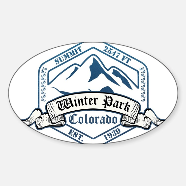 Winter Park Ski Resort Colorado Decal