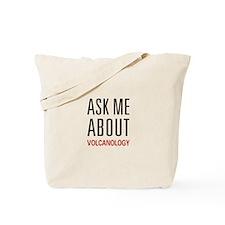 Ask Me Volcanology Tote Bag