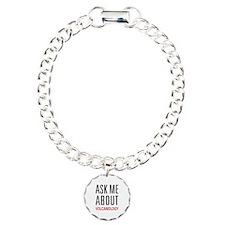 Ask Me About Volcanology Bracelet