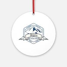 Aspen Ski Resort Colorado Ornament (Round)