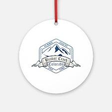 Beaver Creek Ski Resort Colorado Ornament (Round)