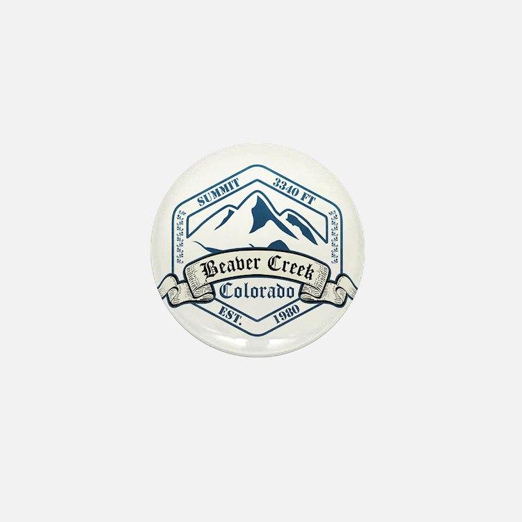 Beaver Creek Ski Resort Colorado Mini Button