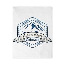 Beaver Creek Ski Resort Colorado Twin Duvet