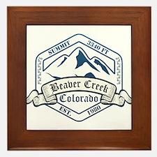 Beaver Creek Ski Resort Colorado Framed Tile