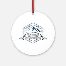 Kirkwood Ski Resort California Ornament (Round)