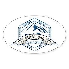 Kirkwood Ski Resort California Decal