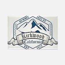 Kirkwood Ski Resort California Magnets
