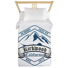 Kirkwood Ski Resort California Twin Duvet