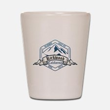 Kirkwood Ski Resort California Shot Glass