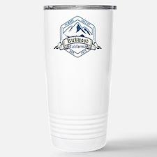 Kirkwood Ski Resort California Travel Mug